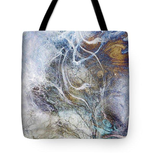 Night Blizzard Tote Bag by Francesa Miller