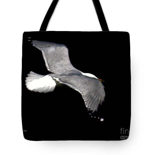 Night Flight Tote Bag by Dale   Ford