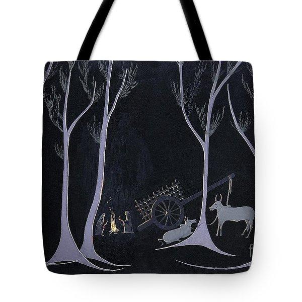 Night Halt Tote Bag