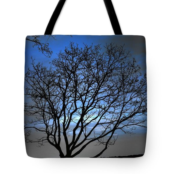 Night On The River Tote Bag by Dan Stone