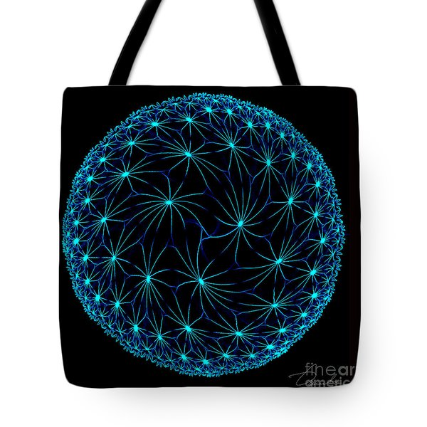 Night Spiders Tote Bag by Danuta Bennett