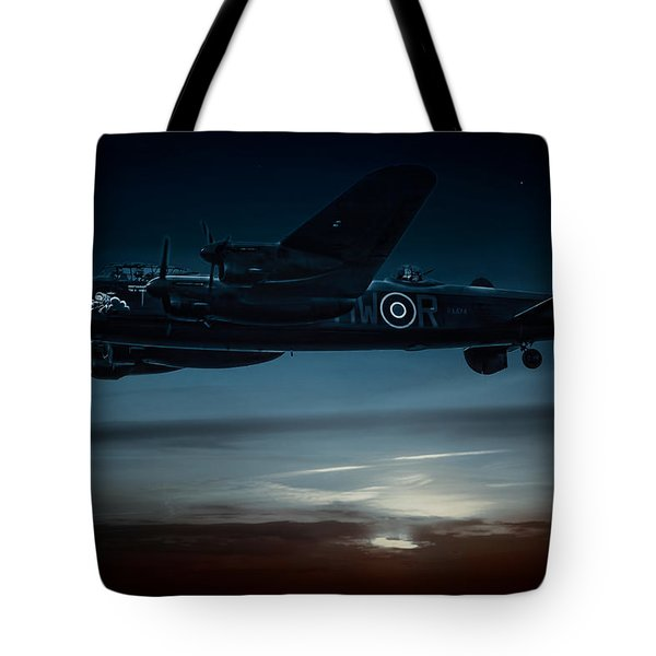 Nightflight Tote Bag by Chris Lord