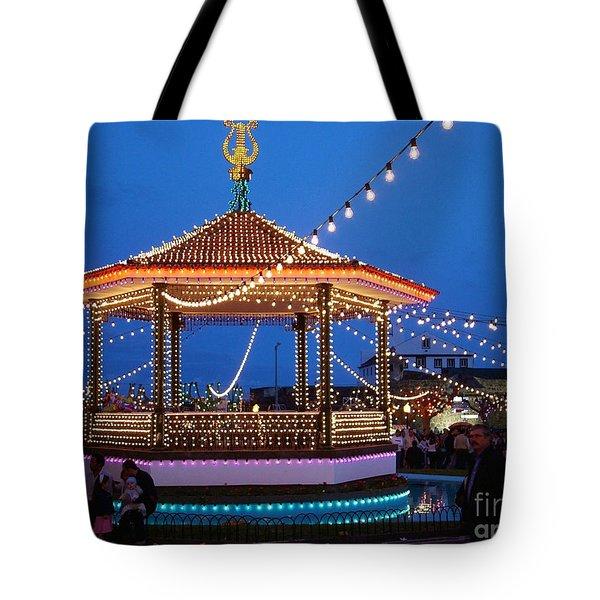 Nighttime Religious Celebrations Tote Bag by Gaspar Avila