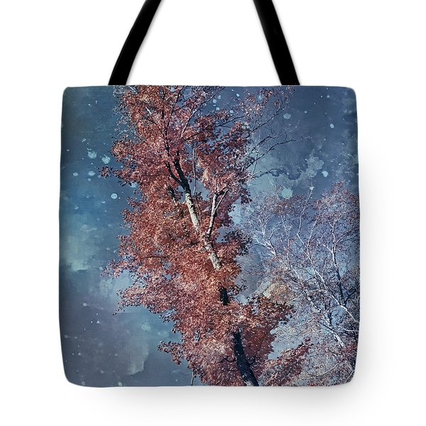 Nighty Tree Tote Bag by Aimelle