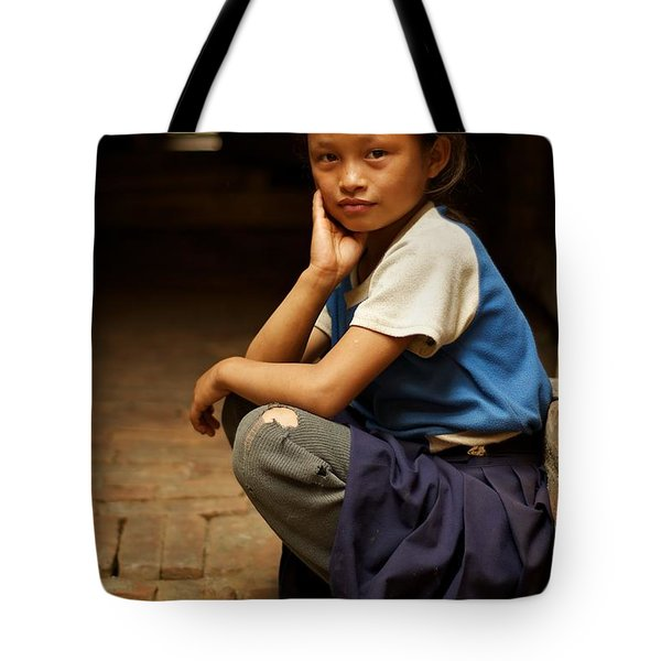 Nine Years Old Tote Bag