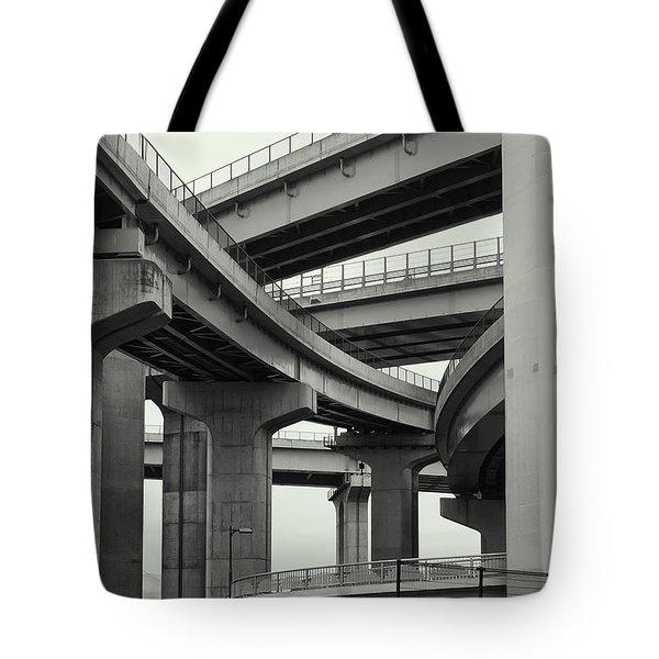 Nippon Super Expressway -- Kansai Japan Tote Bag