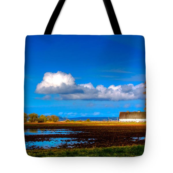 Nisqually Wildlife Refuge P35 Tote Bag by David Patterson