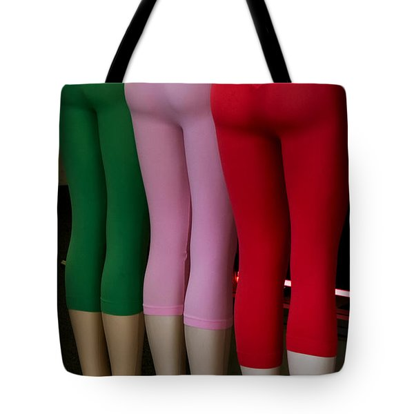Tote Bag featuring the photograph No Ifs Ands Or Butts by Lorraine Devon Wilke