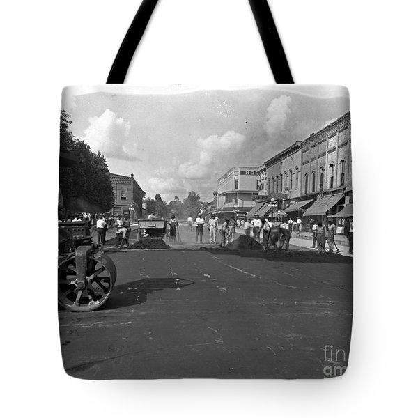 No More Dirt Streets Tote Bag