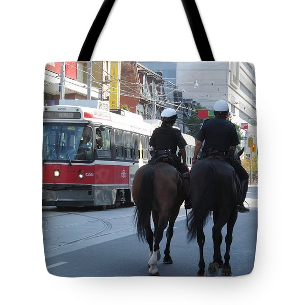 No Need For The Streetcar Tote Bag by Alfred Ng
