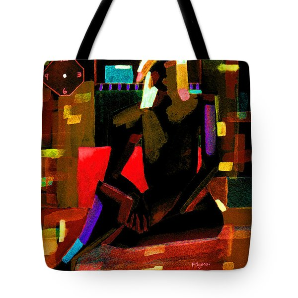 No Time Like The Present Tote Bag by Paula Ayers
