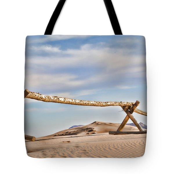 No Trespassing Tote Bag by Heather Applegate