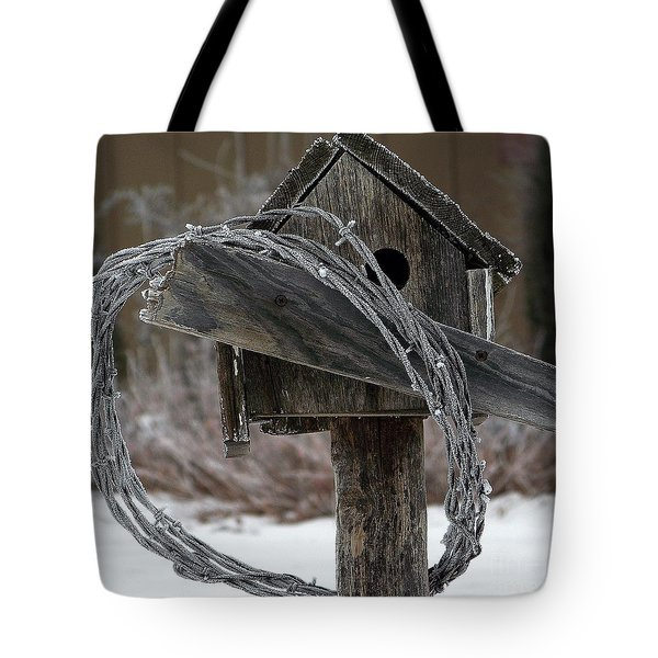 Nobody Home Tote Bag by Dorrene BrownButterfield