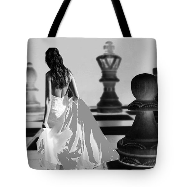 Nobody's Pawn Tote Bag