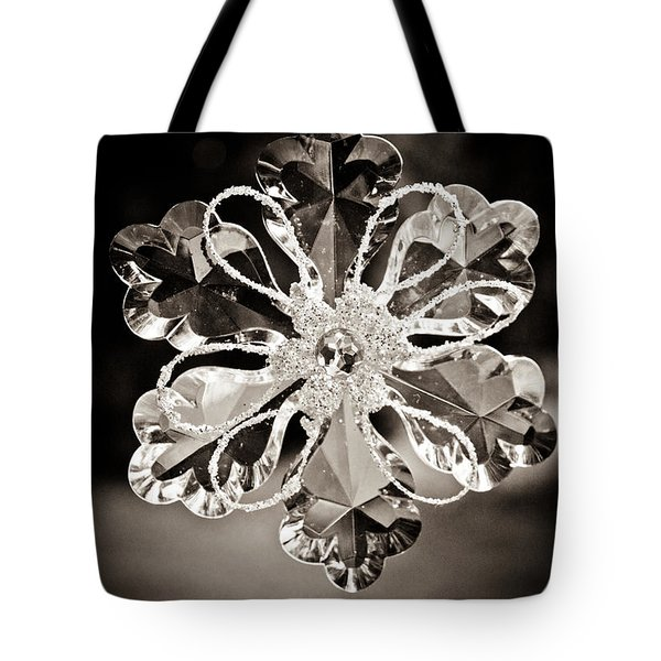 Noir Reflections Tote Bag by Sara Frank