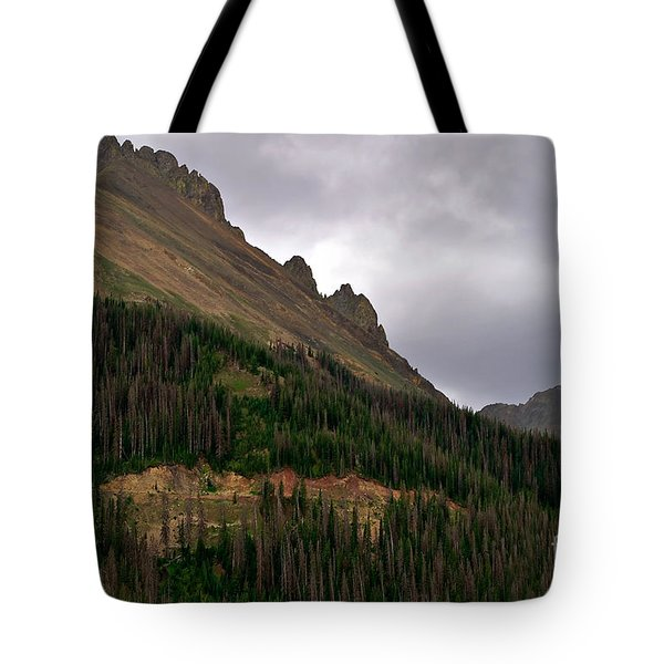Nokhu Crags Colorado Tote Bag by Michael Kirsh