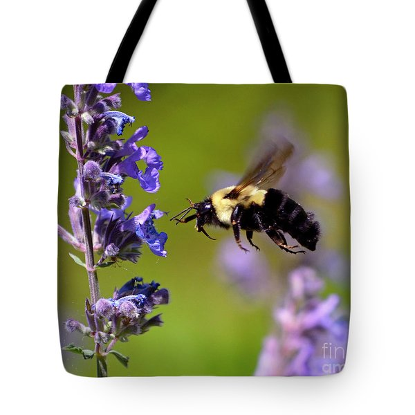 Non Stop Flight To Pollination Tote Bag
