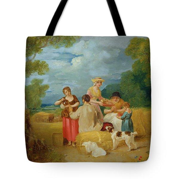 Noon Tote Bag by Francis Wheatley