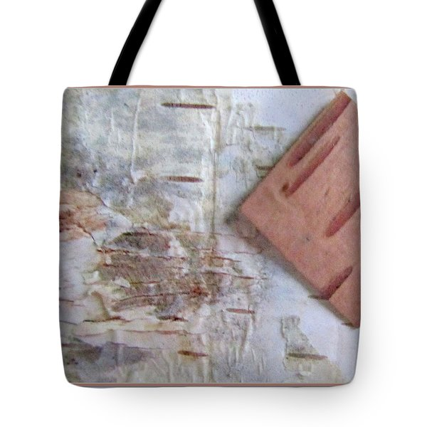 Normand's  Birch Bark  Tote Bag by Danielle  Parent