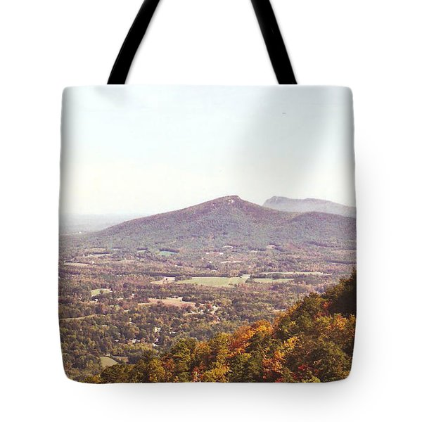 North Caolina Pilot Mountains Tote Bag