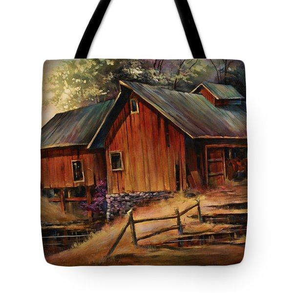 North Country Tote Bag by Michael Lang