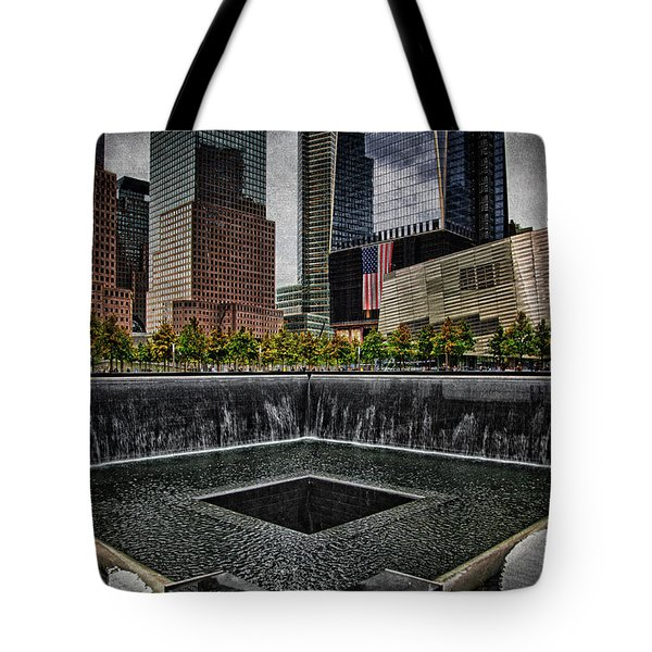 North Tower Memorial Tote Bag by Chris Lord