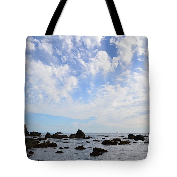 Tote Bag featuring the photograph Northern California Coast1 by Zawhaus Photography