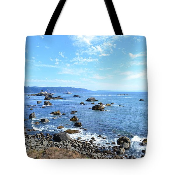 Tote Bag featuring the photograph Northern California Coast3 by Zawhaus Photography