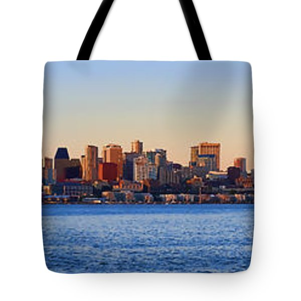 Northwest Jewel - Seattle Skyline Cityscape Tote Bag