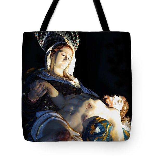 Nossa Senhora Da Piedade Tote Bag by Gaspar Avila