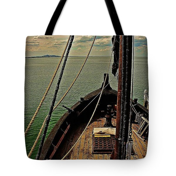 Notorious The Pirate Ship 6 Tote Bag