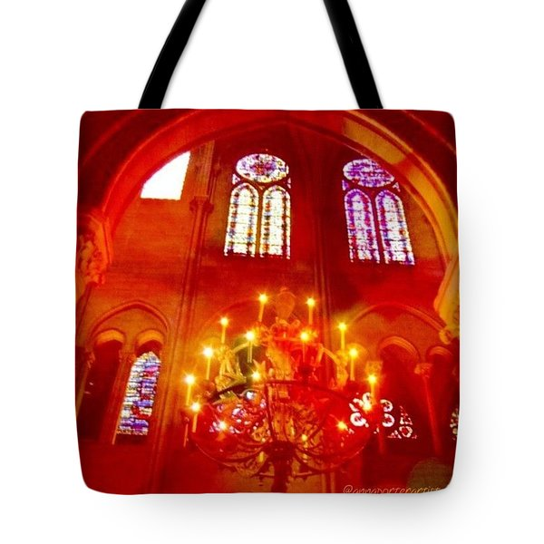 Notre Dame Cathedral - Paris France Tote Bag by Anna Porter