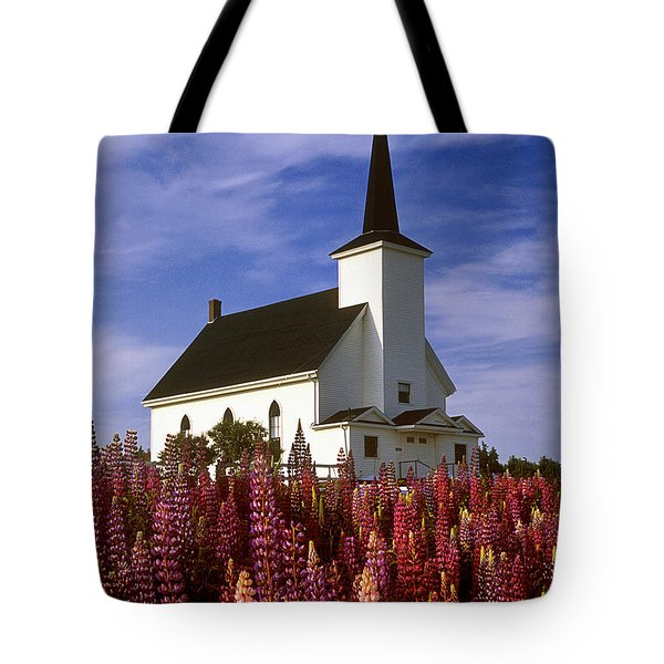 Nova Scotia Church Tote Bag