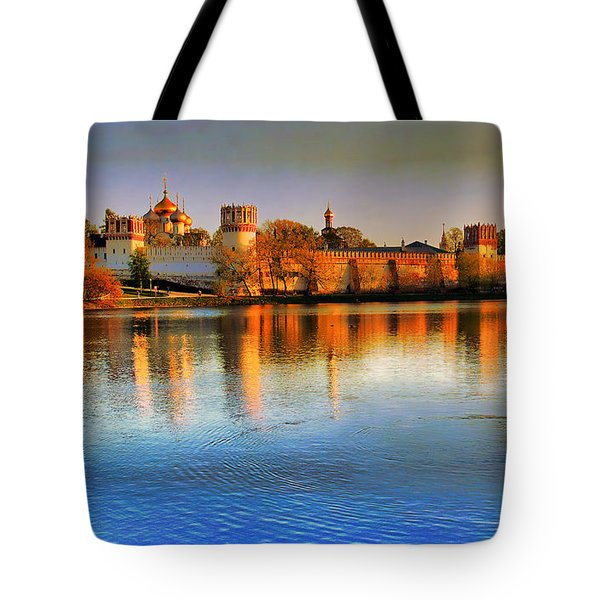 Novodevichy Convent Tote Bag