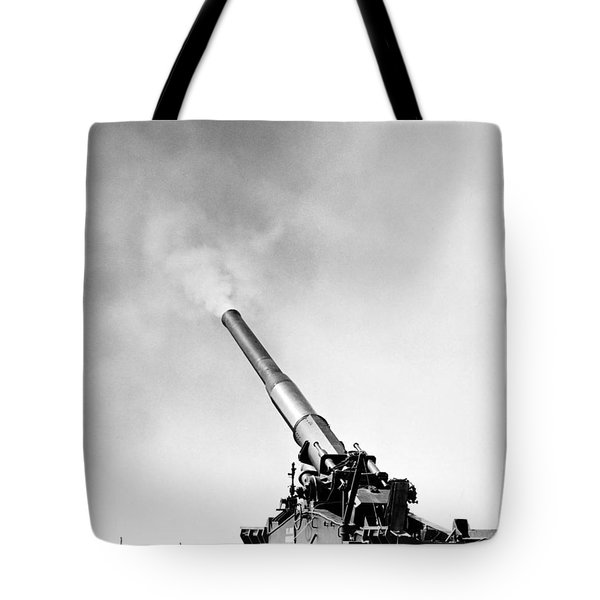 Nuclear Artillery, 1950s Tote Bag by Granger