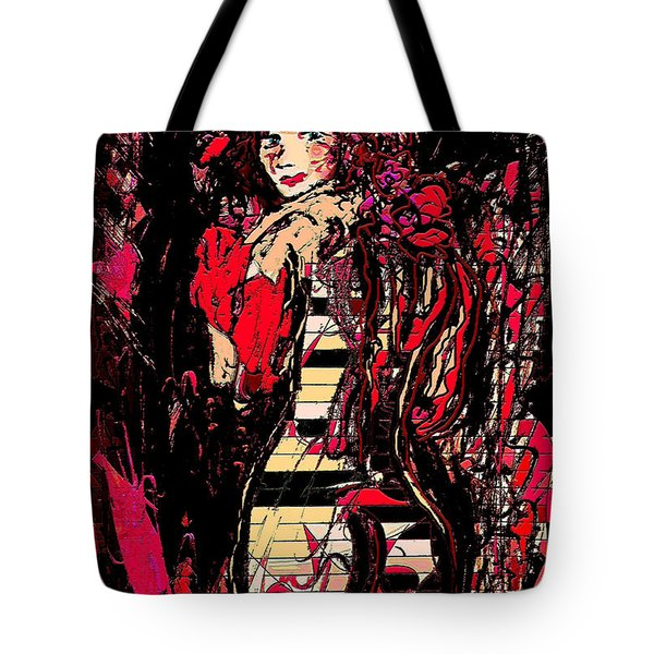 Nude 4 Tote Bag by Natalie Holland