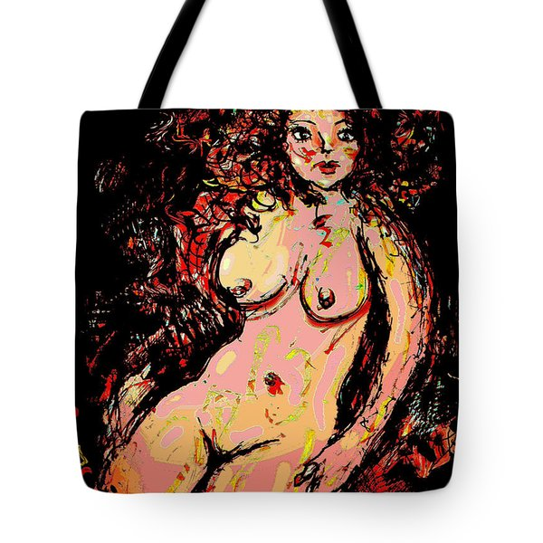 Nude 8 Tote Bag by Natalie Holland