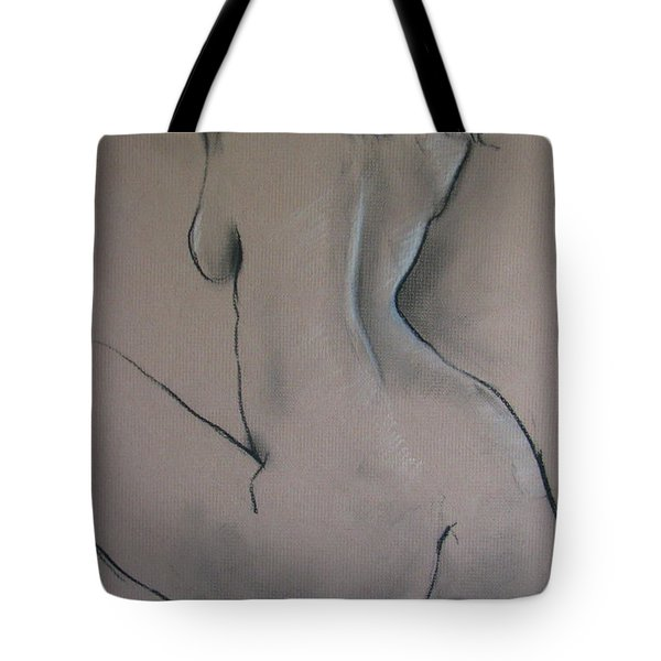 Nude Dancer Tote Bag by Rory Sagner