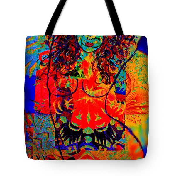 Nude Goddess Tote Bag by Natalie Holland