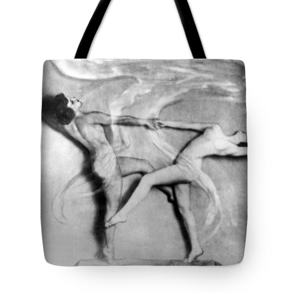 Nude Interpretive Dancers Tote Bag
