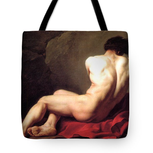 Nude Male Tote Bag by Sumit Mehndiratta