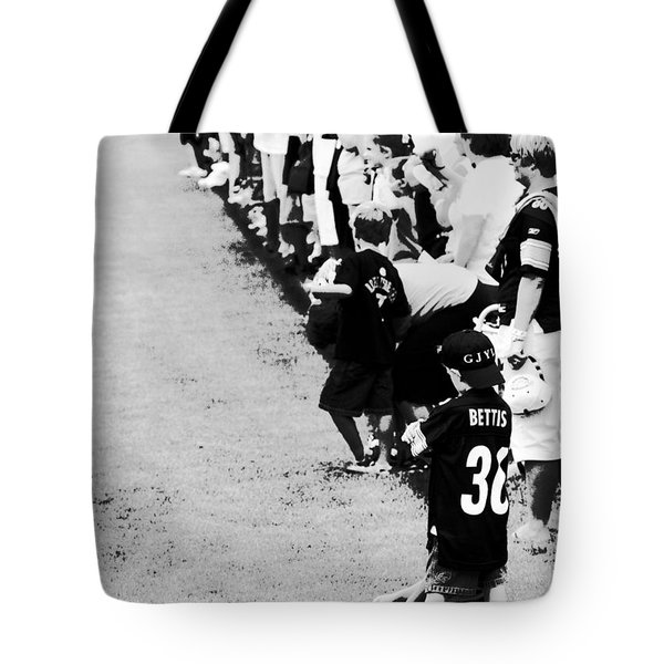 Number 1 Bettis Fan - Black And White Tote Bag