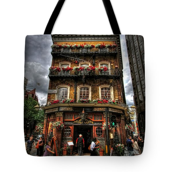 Number 52 Victoria Street Tote Bag by Yhun Suarez