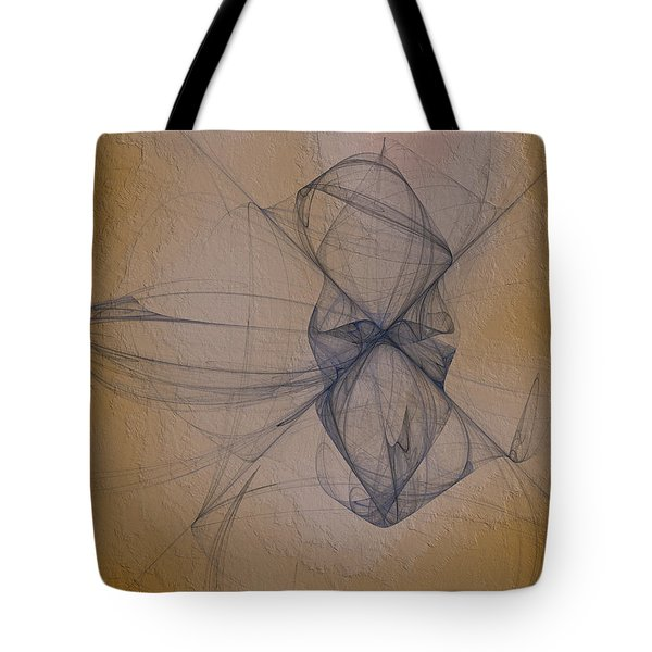 Tote Bag featuring the digital art Nuoretta by Jeff Iverson