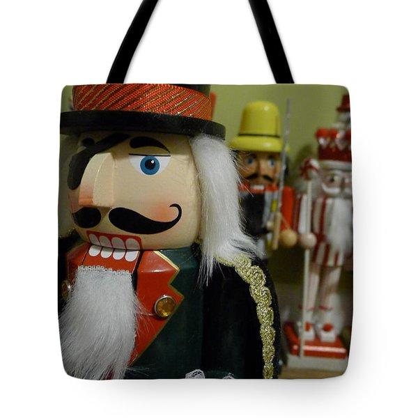 Nutcracker I Tote Bag by Richard Reeve