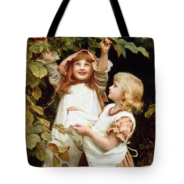 Nutting Tote Bag by Frederick Morgan
