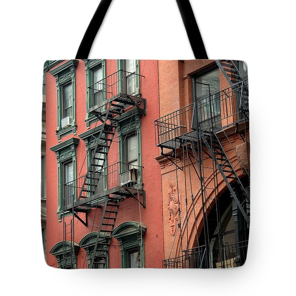 Nyc Building Tote Bag