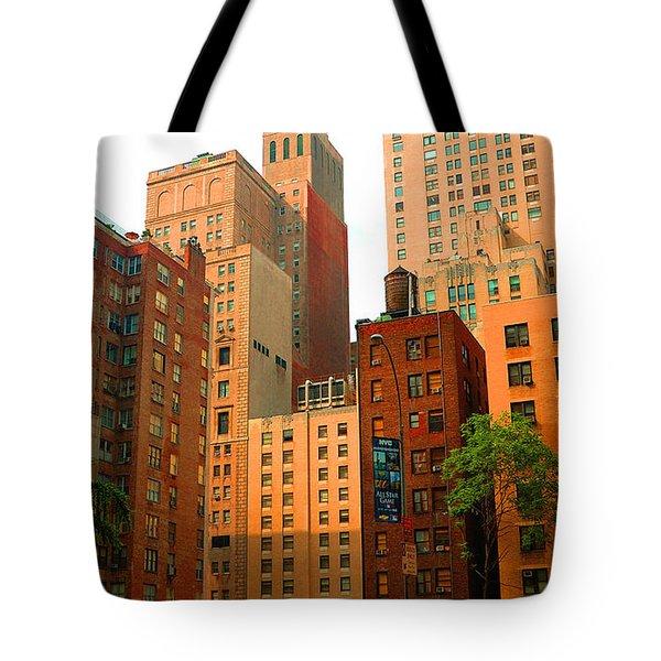 Nyc Buildings Tote Bag