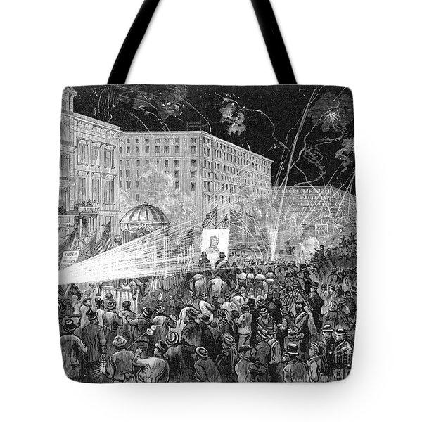 Nyc: Democrat Parade, 1876 Tote Bag by Granger