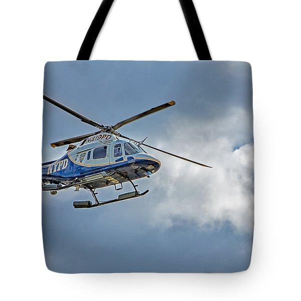Nypd Tote Bag by Susan Candelario